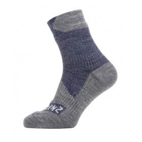 SealSkinz All Weather Ankle Socken Gr. S 36 - 38 navy grau