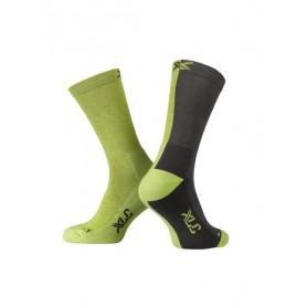 XLC All MTN CS-L02  Socken Gr. 36 - 38 gelb grau