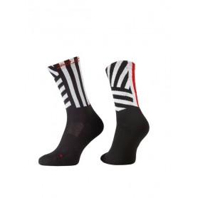 XLC All MTN Socke CS-L02 Gr. 46 - 48 schwarz weiß