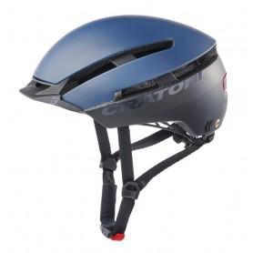 Cratoni Fahrradhelm C-Loom (City) Gr. S-M (53-58cm) blau/schwarz matt