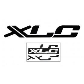 XLC 3D Logo zum Aufkleben schwarz,45 x 7 x 1cm, f. Shopwand
