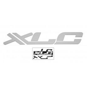 XLC 3D Logo zum Aufkleben weiß,45 x 7 x 1cm, f. Shopwand