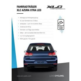 XLC Poster für Heckträger Display 84x60, 3400010210, Azura LED
