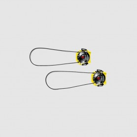 SIDI Drehverschluss Techno-3 Push kurz, gelb/schwarz
