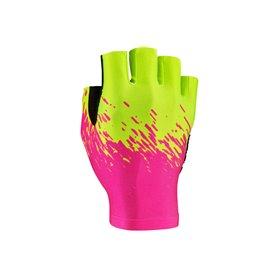 Supacaz gloves Supa-G kurz size XL neon rose yellow