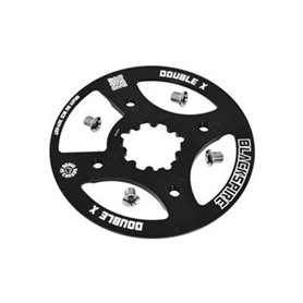 Blackspire Chain guard ring Double-X BCD 80 mm 30/32 teeth for SRAM XX black