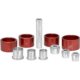 Wheels MFG inner bearing Extractor kit red