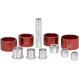 Wheels MFG inner bearing Extractor kit red