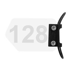 Trivio number bracket seatpost Alu black