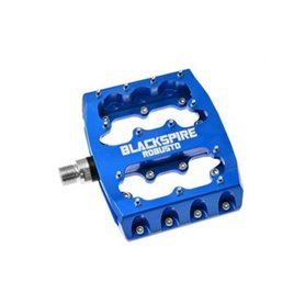 """Blackspire Pedals Robusto Aluminium 9/16"""" 100x94 mm blue"""