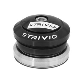Trivio headset Pro Full 1 1/8 - 1-1/4 inch 45/45° installation height 8 mm black