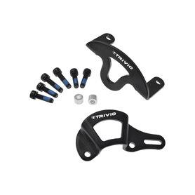 Trivio Disc brake Caliper protection set black