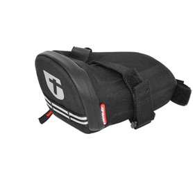 Trivio saddle bag Elite Foaming Strap XS black