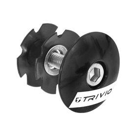 Trivio Topcap Starnut 1 1/8 black