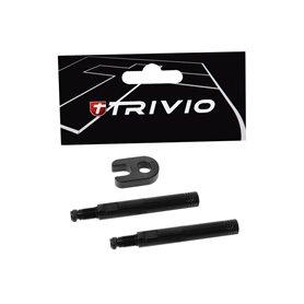 Trivio valve extension set 40 mm tool black