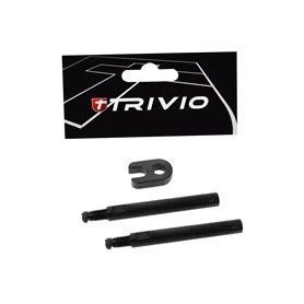 Trivio Ventilverlängerungsset 50 mm Werkzeug schwarz