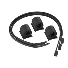 Trivio Leitung mounting kit black 3 pieces