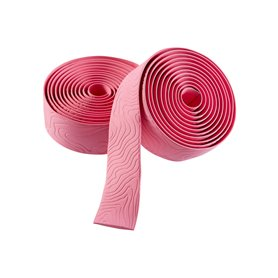 Guee handlebar tape Sio Dura Silicon length 1850 mm width 31 mm rose