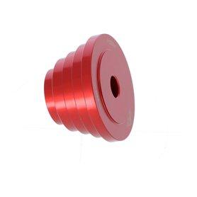 Wheels MFG headset press adapter frame red