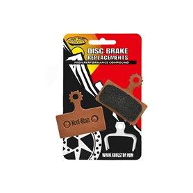 Koolstop brake pads Disc Shimano XTR M985 Sintered copper