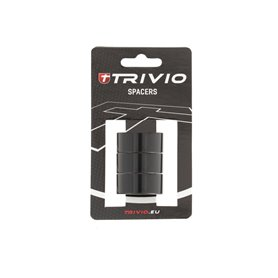 Trivio spacer ring 15 mm 1 1/8 inch black 3 pieces
