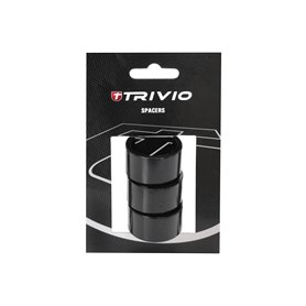 Trivio spacer ring 20 mm 1 1/8 inch black 3 pieces