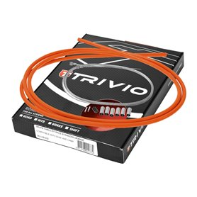 Trivio brake cable set complete Road bike stainless steel orange