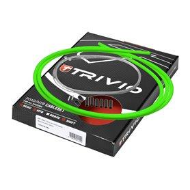 Trivio cable set complete Schalt RVS neon green