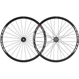 Miche Wheel set Pistard Clincher 28 inch black silver