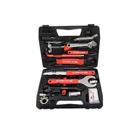Trivio Werkzeugkofffer Starter 18-teilig schwarz