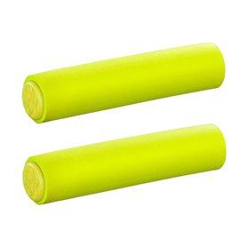 Supacaz grips Silizonez length 130 mm diameter 28 mm neon yellow SL