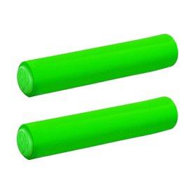 Supacaz grips Silizonez length 130 mm diameter 28 mm neon green SL