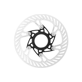 Campagnolo Brake disc AFS Centerlock Aluminium 140 mm silver black