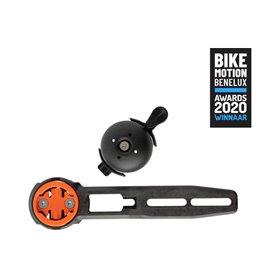 CloseTheGap handlebar mount Hidemybell Bel Raceday FI black orange