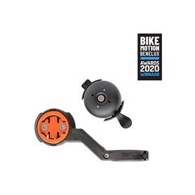 CloseTheGap handlebar mount Hidemybell Bel Raceday SL 31.8 mm black orange