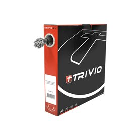 Trivio derailleur cable internal steel 1.1 mm length 2250 mm silver 100 pieces