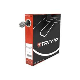 Trivio derailleur cable internal steel Slick 1.1 mm 2250 mm silver 100 pieces
