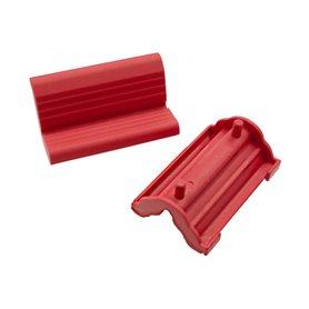 Trivio rubber clamp mount Bike stand Elite / Master red