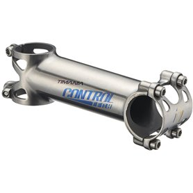 Controltech stem Timania Titanium clamping 31.8 mm length 120 mm +/- 5° silver