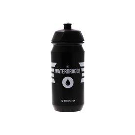 Trivio drink bottle De Waterdrager 500 ml black white