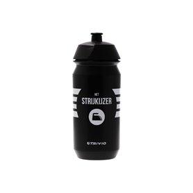 Trivio drink bottle Het Strijkijzer 500 ml black white