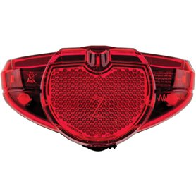 AXA Tail light Spark 50-80mm Battery switch red