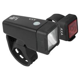 AXA Light set Niteline T1 Inkl. Battery black