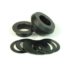 WHEELS MFG inner bearing Adapter BBright SRAM black