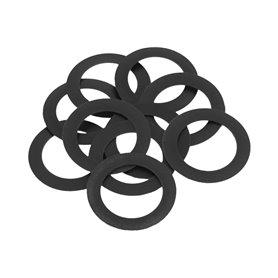 WHEELS MFG spacer ring 0.5 mm für Shimano 24 mm AS black 10 pieces