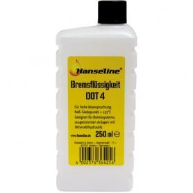 Brake Fluid DOT 4 250 ml Plastic Bottle