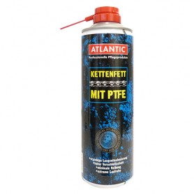 Atlantic Kettenfett mit PTFE Spraydose 500ml mit Schnorchel