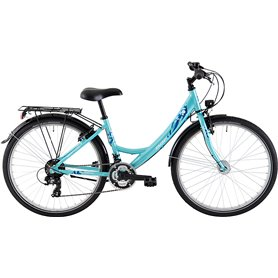 BBF Youth bike ATB Outrider 2021 Women turquoise frame size 38 cm
