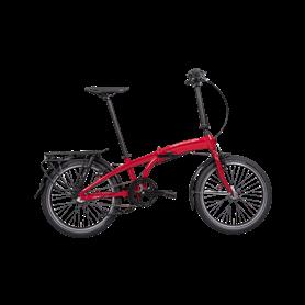 Hercules Versa R3 Uni Folding bike 2020/21 20 inch dark red frame size 29 cm