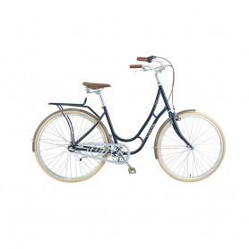 Viva City bike Juliett Entry Women 28 inch 2019/20 dark blue frame size 52 cm